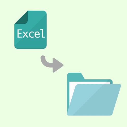 イメージ:Excelから FileMaker への変換